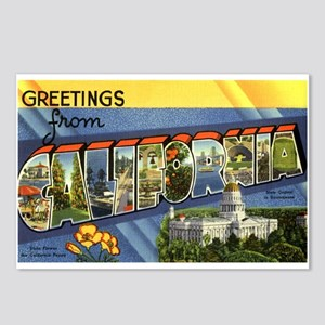 Greetings from california postcards cafepress greetings from california postcards package of 8 m4hsunfo