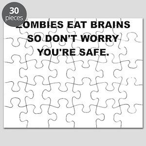 ZOMBIES EAT BRAINS Puzzle