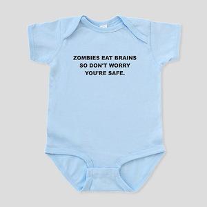 ZOMBIES EAT BRAINS Body Suit