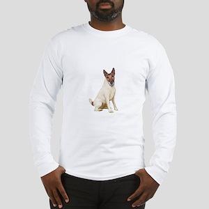 Fox Terrier (brwn-w) Long Sleeve T-Shirt