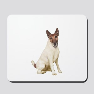 Fox Terrier (brwn-w) Mousepad