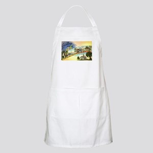 Greetings from Connecticut BBQ Apron