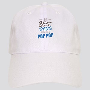 Great Dads Get Promoted to Pop Pop Baseball Cap