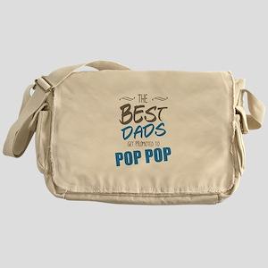 Great Dads Get Promoted to Pop Pop Messenger Bag