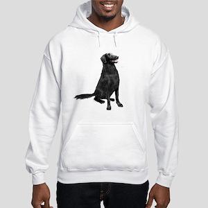 Flat Coated Retrvr (C) Hooded Sweatshirt