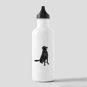 Flat Coated Retrvr (C) Stainless Water Bottle 1.0L