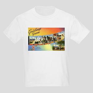 Greetings from Delaware Kids Light T-Shirt