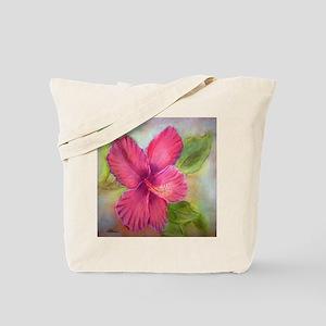 """""""Kauai Hibiscus"""" Tote Bag"""