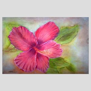 """""""Kauai Hibiscus"""" Large Poster"""