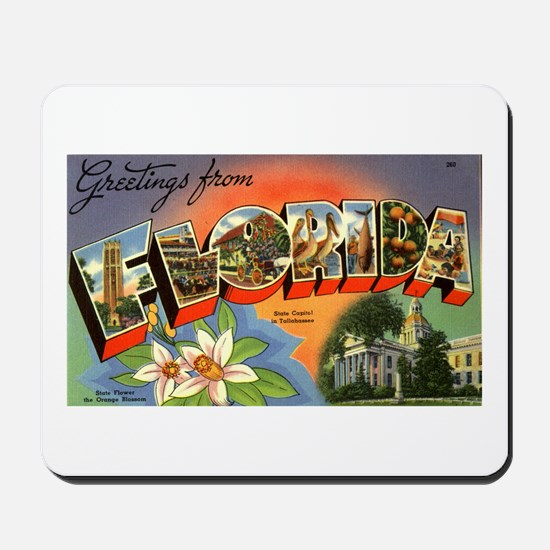Greetings from Florida Mousepad
