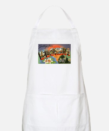 Greetings from Florida BBQ Apron