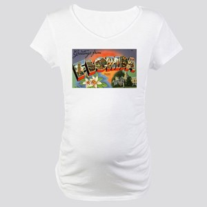 Greetings from Florida Maternity T-Shirt
