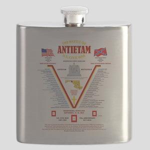U.S. CIVIL WAR BATTLE OF ANTIETAM Flask