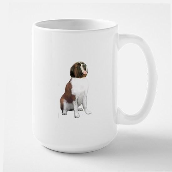 St Bernard #1 Large Mug