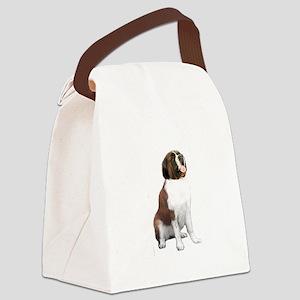 St Bernard #1 Canvas Lunch Bag