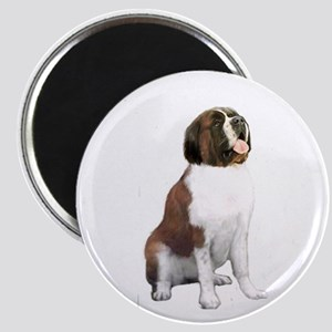 St Bernard #1 Magnet Magnets