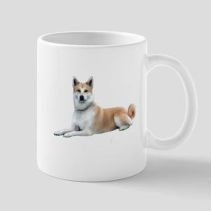 Akita Inu (liedown) Mug