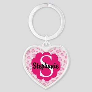 Personalized Pink Name Monogram Gift Keychains 5da99353d2