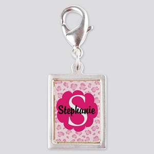 Personalized Pink Name Monogram Gift Charms