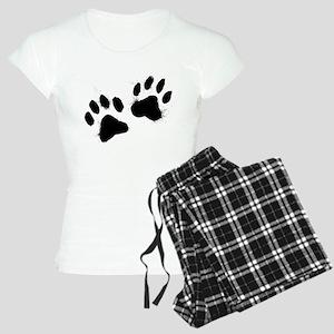 Pair Of Black Paw Pajamas
