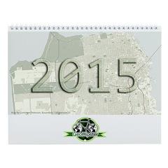Geohipster 2015 Wall Calendar