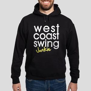 West Coast Swing Junkie Hoodie (dark)