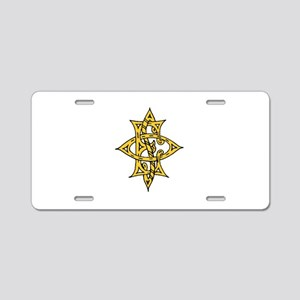 OES Aluminum License Plate