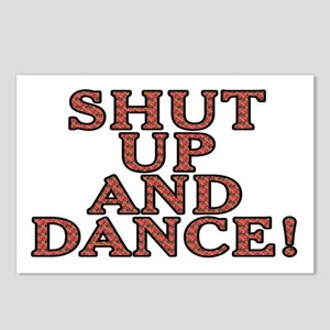 Shut up and dance! - Postcards (Package of 8)
