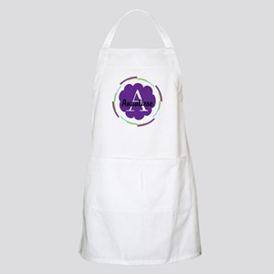 Personalized Name Monogram Gift Apron