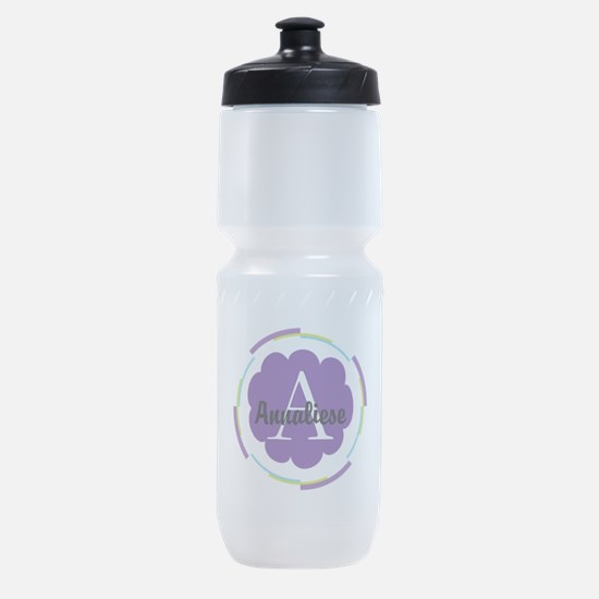 Personalized Name Monogram Gift Sports Bottle