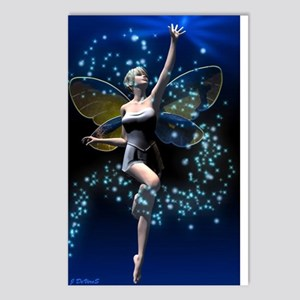 DREAM BIG!!! White Postcards (Package of 8)