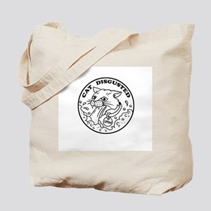Cat Disgusted Tote Bag