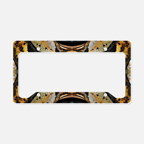 Red Tailed Boa License Plate Holder