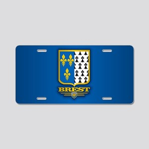 City of Brest Aluminum License Plate