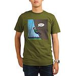 Natural Rock Face Cli Organic Men's T-Shirt (dark)