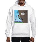 Natural Rock Face Climbing Hooded Sweatshirt
