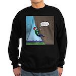 Natural Rock Face Climbing Sweatshirt (dark)