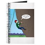 Natural Rock Face Climbing Journal