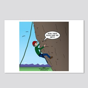 Natural Rock Face Climbin Postcards (Package of 8)
