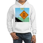 Road Work Ahead Maybe Hooded Sweatshirt