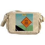 Road Work Ahead Maybe Messenger Bag