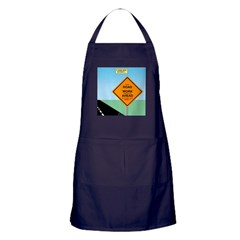 Road Work Ahead Maybe Apron (dark)