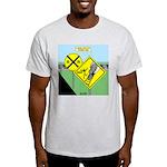rail road crossing Light T-Shirt