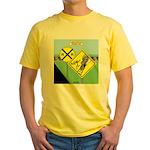 rail road crossing Yellow T-Shirt