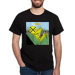 rail road crossing Dark T-Shirt