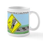 rail road crossing Mug