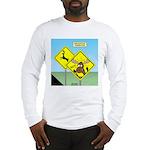 Deer Crossing Long Sleeve T-Shirt