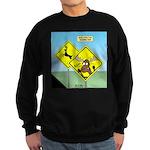 Deer Crossing Sweatshirt (dark)
