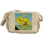Deer Crossing Messenger Bag