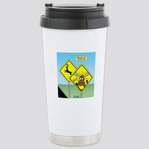 Deer Crossing Stainless Steel Travel Mug